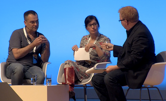 Mark Findlay, Tanja Ötvös, Nik Goodman, Radiodays Europe 2013