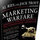 Marketing Warfare book cover, Al Ries and Jack Trout book cover