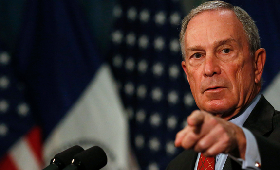 Michael Bloomberg, New York City, former mayor