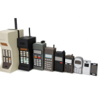 mobile phone models, big to small, old to new, 1G to 4G