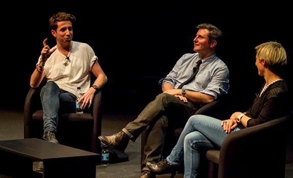 Nick Grimshaw, Ben Cooper, Miranda Sawyer, Radio Festival 2012