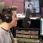 Nick Grimshaw, The Radio 1 Breakfast Show, BBC Radio 1, radio studio