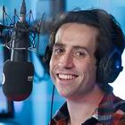 Nick Grimshaw, BBC Radio 1, breakfast show, radio studio