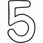 number 5, number five