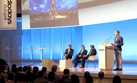 Olaf Hopp, Davy 'Morgan' Serrano, Gaël Sanquer, Peter Waak, Radiodays Europe 2013