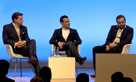 Olaf Hopp, Davy 'Morgan' Serrano, Gaël Sanquer, Radiodays Europe 2013