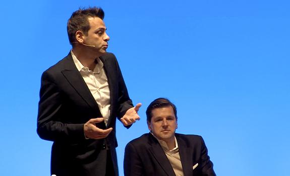 Olaf Hopp, Davy 'Morgan' Serrano, Radiodays Europe 2013