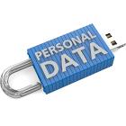 personal data, USB stick, pop art