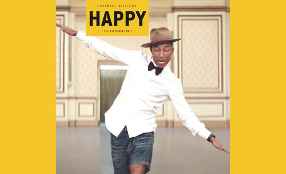 Happy by Pharrell Williams is an example of a long-lasting record that remained a Stay Current for several months (image: Back Lot Music / Columbia Records)