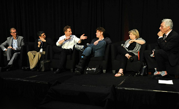 Philippe Generali, Anthony Acampora, Jimmy Steal, John Michael, Carolyn Gilbert, Mike McVay, Worldwide Radio Summit 2013