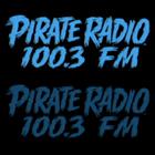 Pirate Radio logo, KQLZ-FM logo