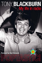 Poptastic! My Life In Radio book cover, Poptastic! book cover, Tony Blackburn book cover
