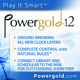 Powergold, Powergold 12, music scheduling software