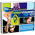 Sky Radio 101 FM, Powervrouwen Top 101, Power Women Top 101, CD cover