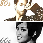 Prince, 1980s music, eighties songs, Tammi Terrell, 1960s music, sixties songs