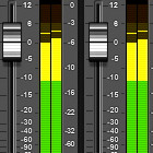 audio levels, sound volume, led meters, mix faders, Pro Tools, ProTools