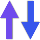 purple-arrow-going-straight-up-and-blue-arrow-going-straight-down-01
