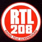 Radio Luxemburg 208 logo, RTL 208 logo, Radio Tele Luxembourg logo