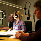 www.radioiloveit.com | Radio presenters in the on-air studio of German public news, information and background channel DRadio Wissen