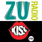 Radio ZU logo, Kiss FM logo
