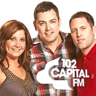 TheRobEllisShow team, The Rob Ellis Show team, Rob Ellis, Rachel, Wingman, Capital FM Manchester, 102 Capital FM logo