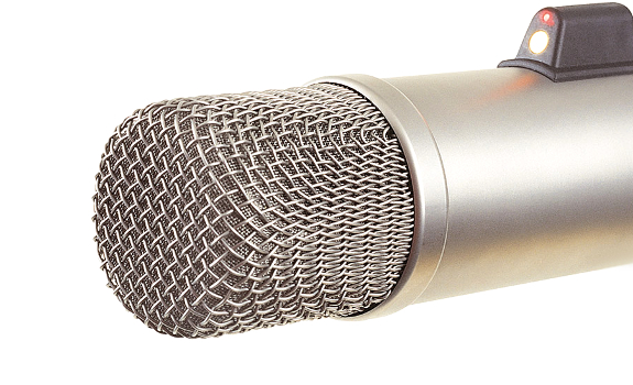 The RØDE Broadcaster microphone has a 1-inch diaphragm capsule (image: RØDE)