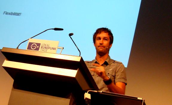 Sacha Gamper, Lokalrundfunktage 2012