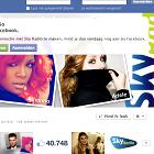 Sky Radio 101 FM, Facebook page