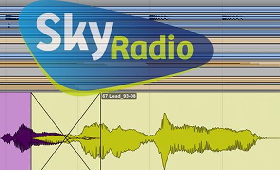 Sky Radio logo, Sky Radio 101 FM logo, ProTools screenshot