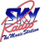 Sky Radio logo, Sky Radio 1988 logo, Sky Radio The Music Station logo