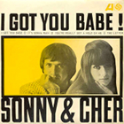 Sonny & Cher, I Got You Babe, single cover