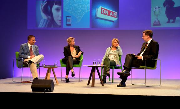 Steve Reynolds, Valerie Weber, Sabine Heinrich, Martin Liss, RADIO DAY 2012