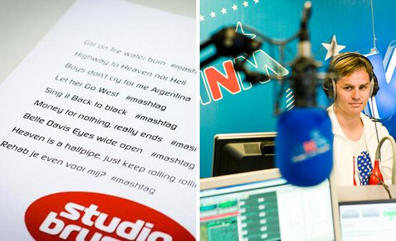 Studio Brussel #Mashtag promotion, MNM Marathon Radio promotion