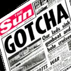 The Sun, tabloid headline, Gotcha