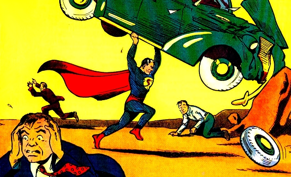 Superman, Action Comics first edition 1938
