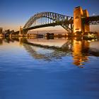 Sydney, Australia, water, bridge, city skyline