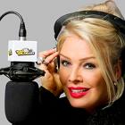 The Kim Wilde 80s Show, Kim Wilde, radio studio, microphone