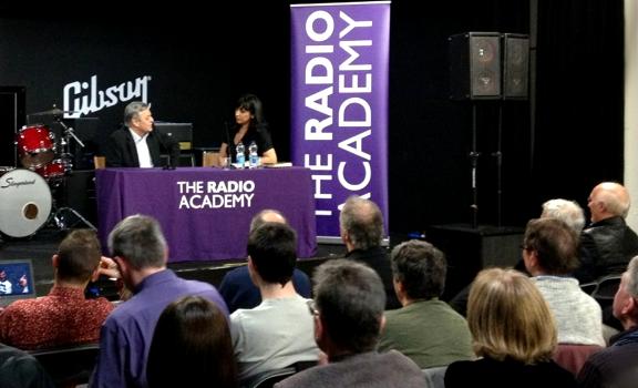 Tony Blackburn, Aasmah Mir, The Radio Academy