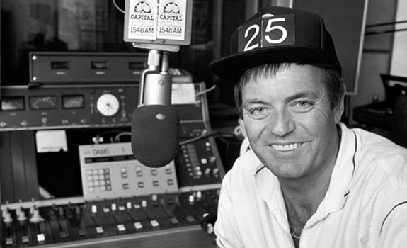 Tony Blackburn, Capital Gold, radio studio