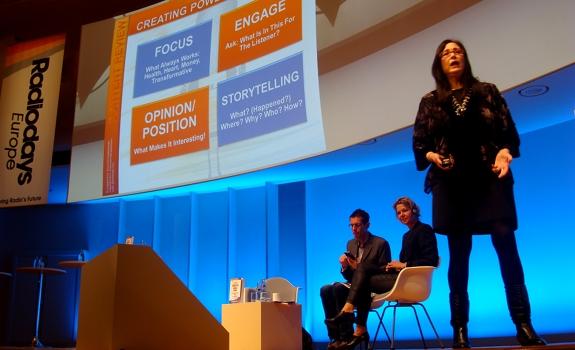 Valerie Geller, Valerie Weber, Radiodays Europe 2013