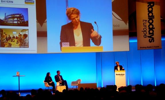 Valerie Weber, Valerie Geller, Radiodays Europe 2013