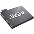 WAV files folder, clipart