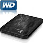 WD My Passport 1TB Portable External Hard Drive Storage USB 3.0 Black, cheap portable hard disk, good external hard drive
