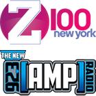 Z100 logo, 92.3 AMP Radio logo
