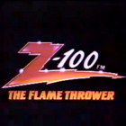 Z100 logo, The Flame Thrower logo